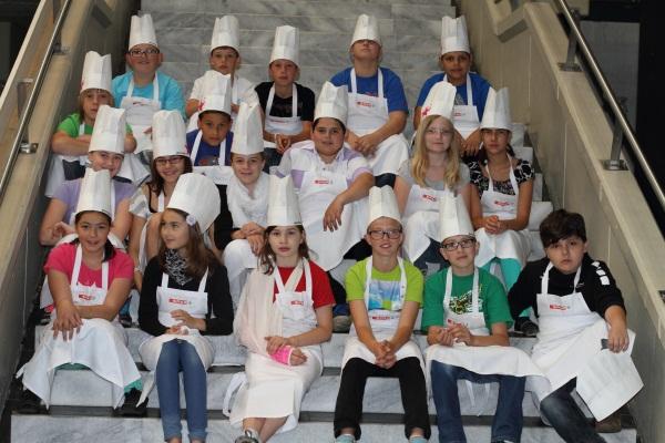 Die Köchinnen und Köche der 1B