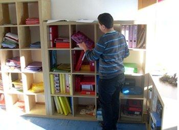 Auswahl eines Lernbereichs