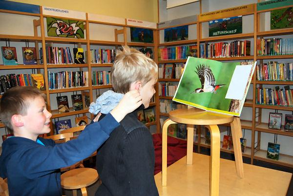 Fotosafari in der Schulbibliothek