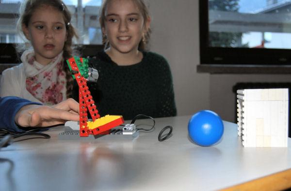 Robotertechnik an der NMS 2 Schwaz