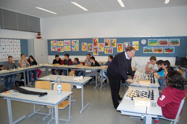 Schach an der NMS 2 Schwaz