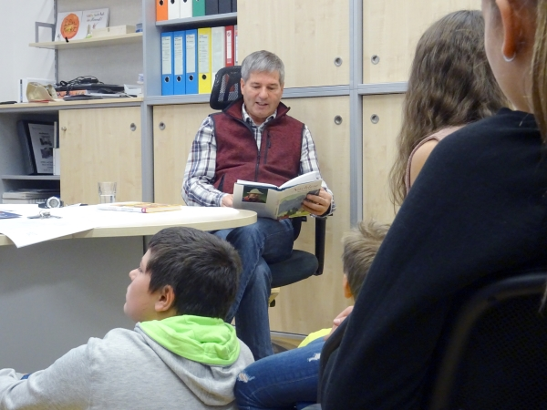 Vorlesetag an der NMS 2 Schwaz
